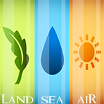 Land, Sea, & Air